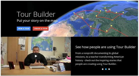Tour Builder Landing Page