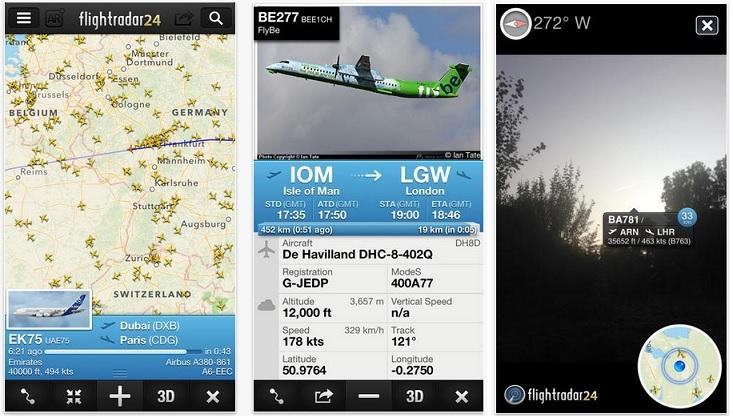 Flightradar24 para IOS