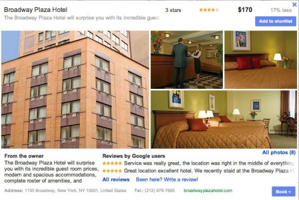 Información del hotel