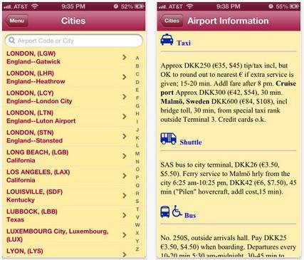 Guía de Tránsito Aeroportuario para IOS