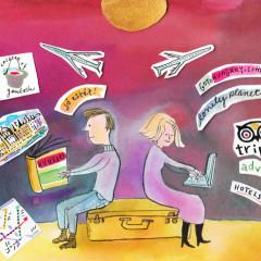 Planeando un viaje: Guías de viaje Versus la Web