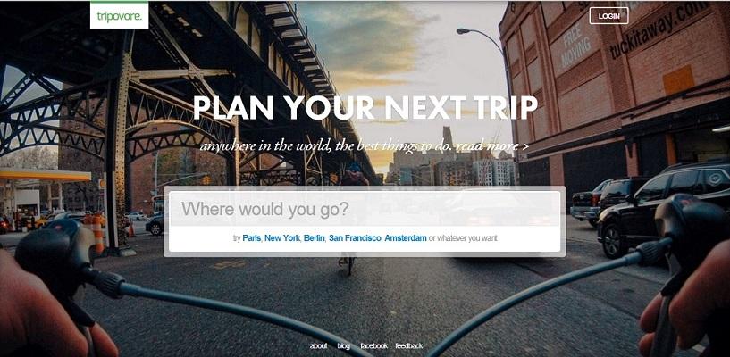 Tripovore para planear tu viaje