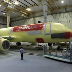 Cómo pintar un avión en dos minutos