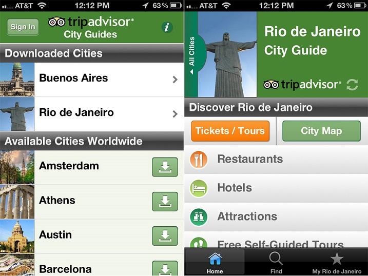 Guía de viaje Offline de TripAdvisor