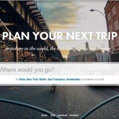 Reinventando la manera de planear un viaje