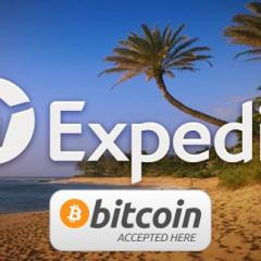 Expedia acepta Bitcoins como medio de pago